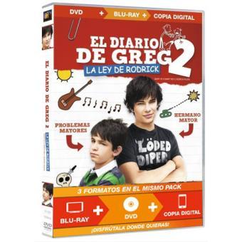 El diario de Greg 2 (DVD + Blu-Ray) - DVD