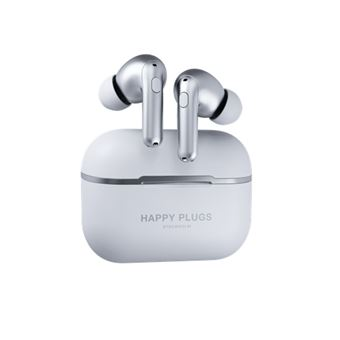 Auriculares Bluetooth Happy Plugs Air 1 Zen True Wireless Plata