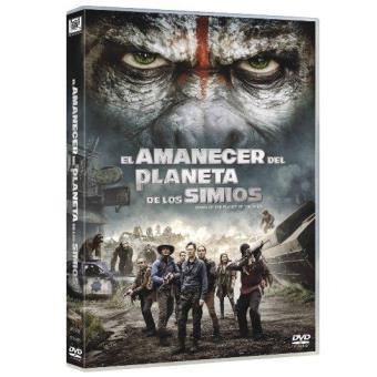 El amanecer del planeta de los simios - DVD