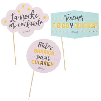 Mr Wonderful Accesorios para photocall - Mensaje
