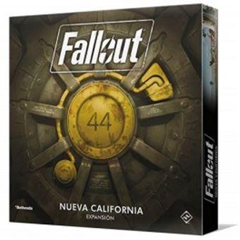 Fallout - Expansión New California - Tablero