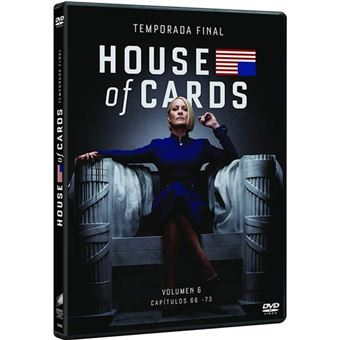 House of Cards - Temporada 6 - DVD