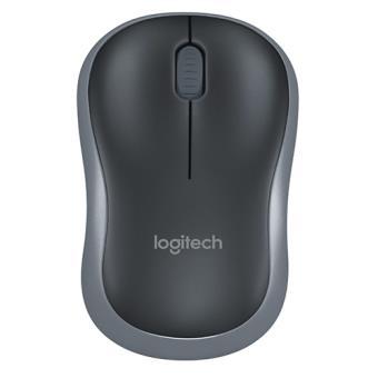 Ratón inalámbrico Logitech M185 Gris