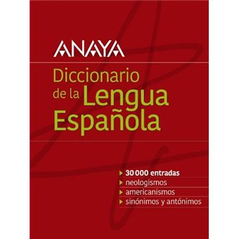 Diccionario anaya de la lengua