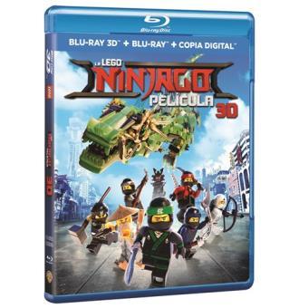La LEGO Ninjago: La Película - 3D + Blu-Ray