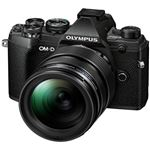 Cámara EVIL Olympus E-M5 Mark III 12-40mm Negro