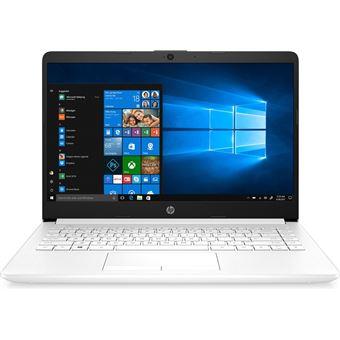 Portátil HP Notebook 14-dk0009ns 14'' Blanco