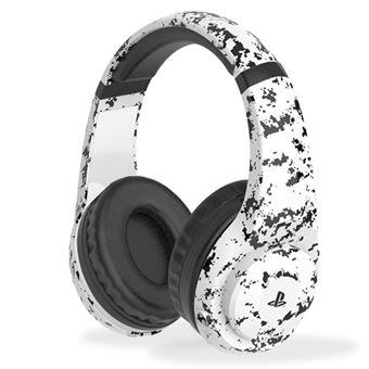 Headset gaming 4Gamers PRO4-70 Camuflaje Blanco para PS4