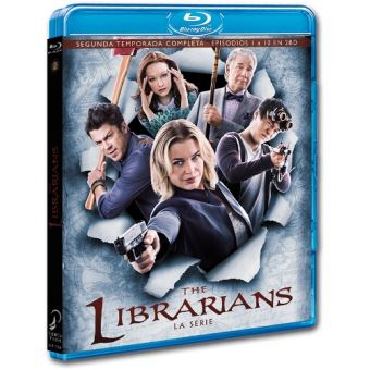 The Librarians - Temporada 2 - Blu-Ray