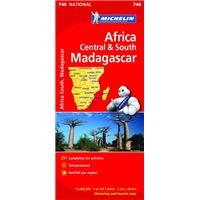 Mapa National África Centro-Sur, Madagascar