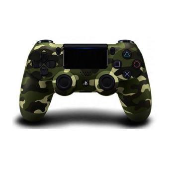 Mando DualShock verde camuflaje V2 PS4