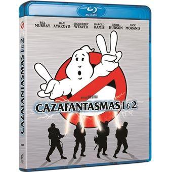 Cazafantasmas 1-2 - Blu-Ray