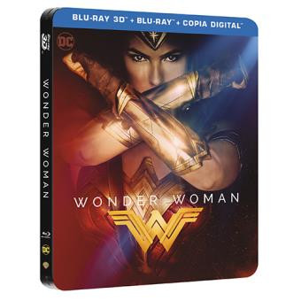 Wonder Woman - Steelbook Blu-Ray + 3D