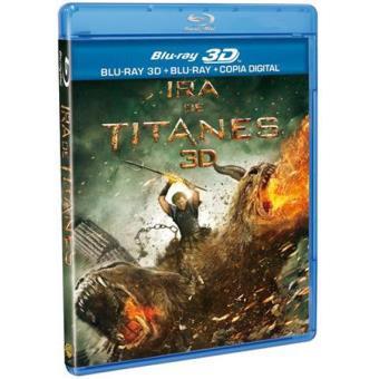 Ira de titanes - Blu-Ray + 3D + Copia digital