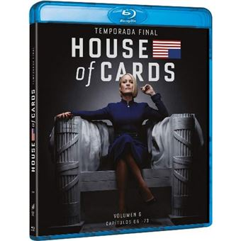 House of Cards  Temporada 6 - Blu-Ray