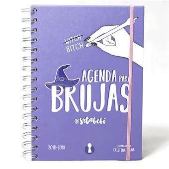 Agenda para brujas 2018/19 Semana vista - Ed Escolar