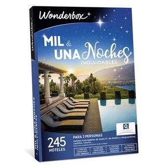 Caja Regalo WonderBox - Mil y una noche inolvidables