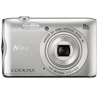Cámara compacta Nikon Coolpix A300 Plata