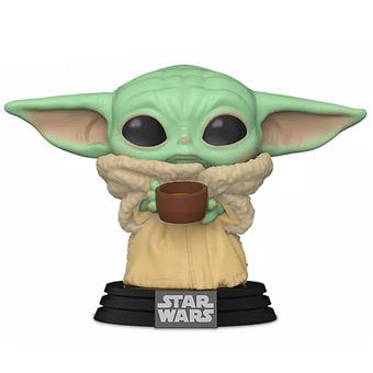 Figura Funko Star Wars The Mandalorian - The child con taza