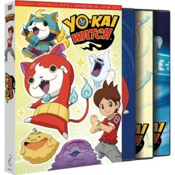 Yo-Kai Watch - Temporada 2 Parte 2 Episodios 40 a 51 - DVD