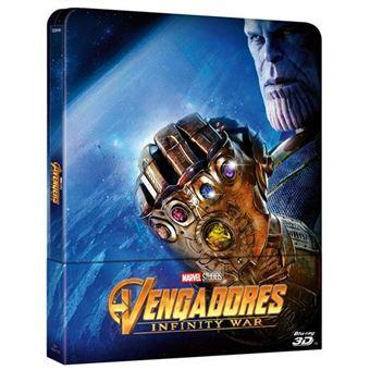 Vengadores: Infinity War - Steelbook Blu-Ray + 3D