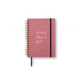 UO Agenda A5 2019|20 Semana Vista -  Work like a girl