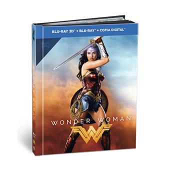 Wonder Woman -  Ed Digibook - Blu-Ray + 3D