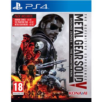 Metal Gear Solid V: The Definitive Experience Hits PS4