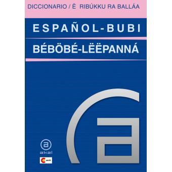Diccionario español-bubi / bubi-español