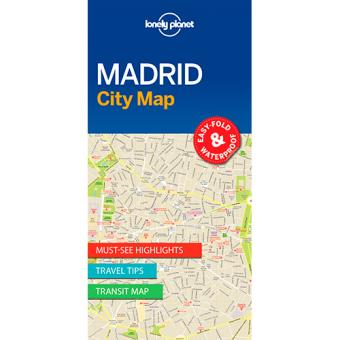 Lonely Planet. City Map: Madrid