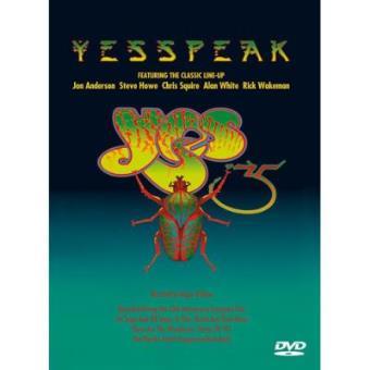Yesspeak (Formato DVD)