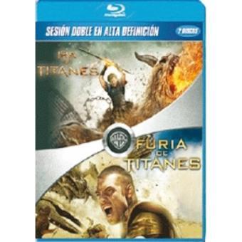 Pack Furia de titanes + Ira de titanes - Blu-Ray
