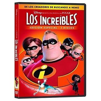 Los Increíbles - DVD