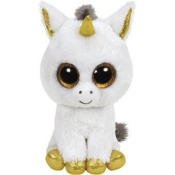 Peluche Beanie Boos Unicornio Pegasus (15cm)