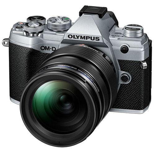 Cámara EVIL Olympus E-M5 Mark III 12-40mm Plata