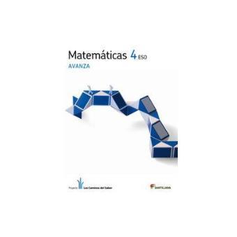 Matemáticas 4 eso avanza los caminos del saber - -5% en libros | FNAC