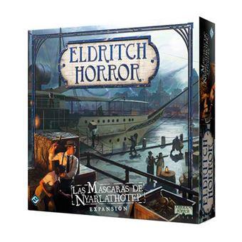 Eldritch Horror - Las máscaras de Nyarlathotep
