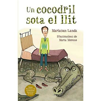 Un cocodril sota el llit
