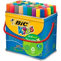 48 rotuladores Bic Kids Visacolour XL Ecolutions