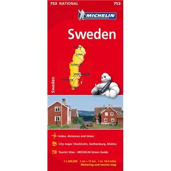 Mapa National Suecia