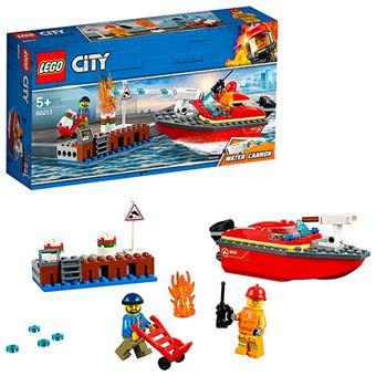LEGO City Fire 60213 Llamas en el Muelle