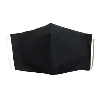 Mascarilla para adulto World Alive higiénica lavable eco Basics negro