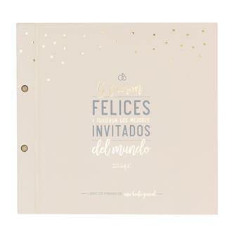 Mr Wonderful Libro de firmas de una boda genial