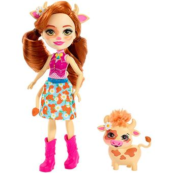Enchantimals Cailey Cow y Curdle Mattel