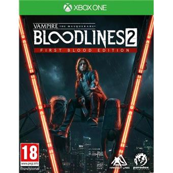 Vampire : The Masquerade - Bloodlines 2 - First Blood Edition - XBOX One