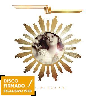 El Milagro - Disco Firmado