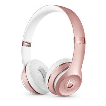 Auriculares Bluetooth Beats Solo3 Wireless Oro rosa