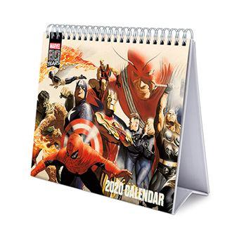 Calendario de escritorio 2020 Erik Deluxe multilingüe Marvel comics