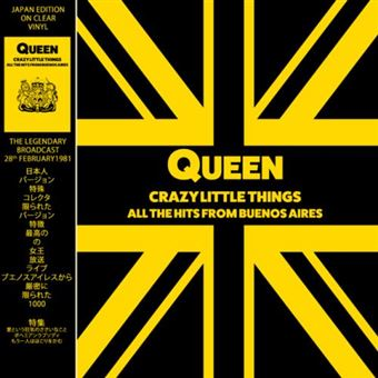Crazy Little Things - All the hits from Buenos Aires - Vinilo