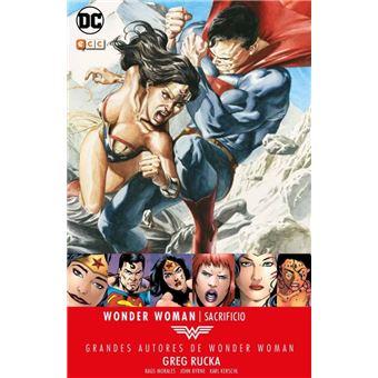 Grandes Autores de Wonder Woman: Greg Rucka. Sacrificio